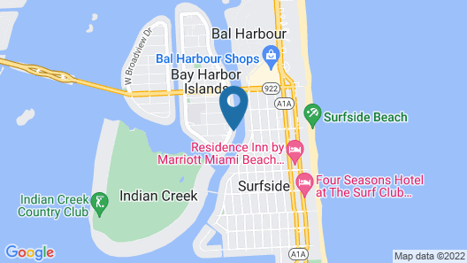 Ivory on the Bay Map