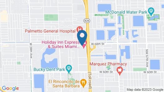 Holiday Inn Express & Suites Miami - Hialeah, an IHG Hotel Map