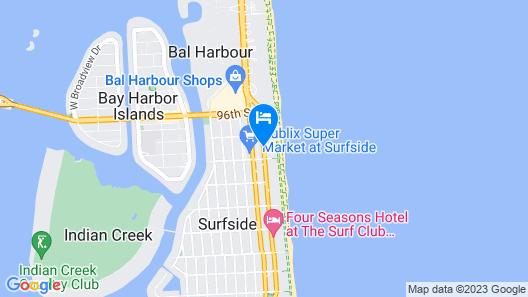 Grand Beach Hotel Surfside Map