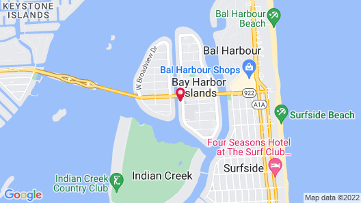 TRYP by Wyndham Miami Bay Harbor Map