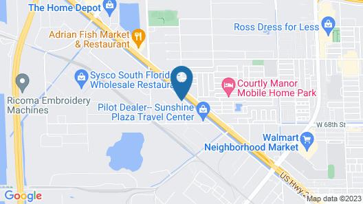 South River Suites Map