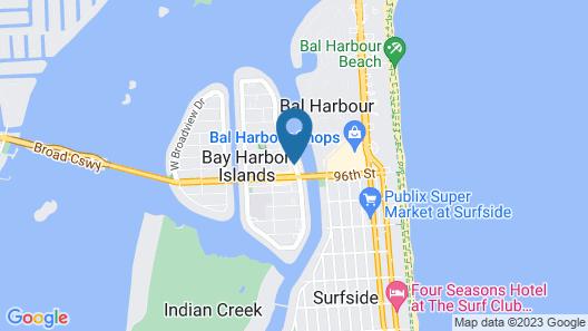 The Landon Bay Harbor - Miami Beach, Ascend Hotel Collection Map