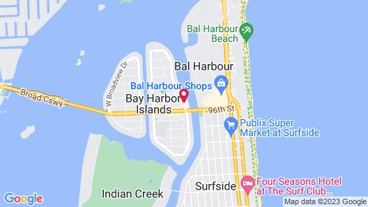 The Landon Bay Harbor-Miami Beach, Ascend Hotel Collection Map
