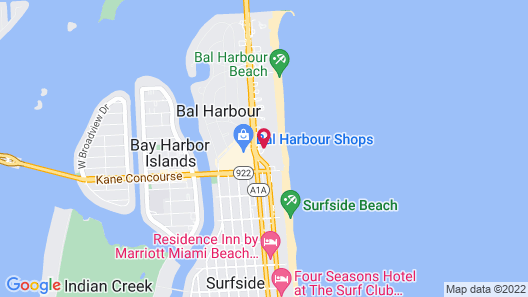 The St. Regis Bal Harbour Resort Map