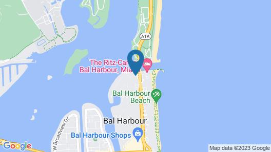 Beach Haus Bal Harbour Map