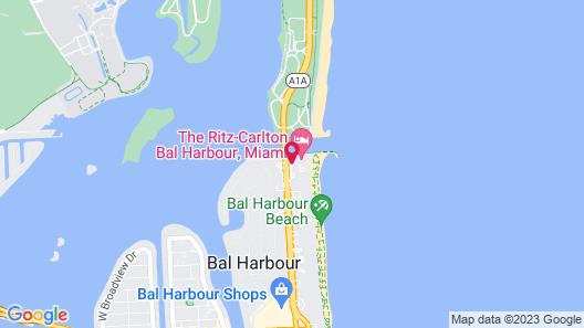 The Ritz-Carlton Bal Harbour, Miami Map