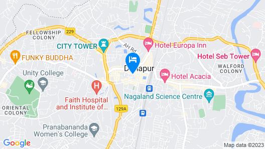 Capital O 37896 Hotel Royal Star Map