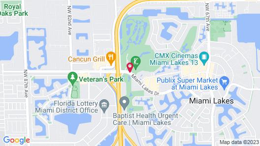 Shula's Hotel & Golf Club Map
