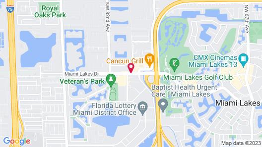La Quinta Inn & Suites by Wyndham Miami Lakes Map