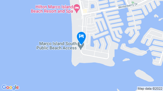 Marco Beach Vacation Suites Map