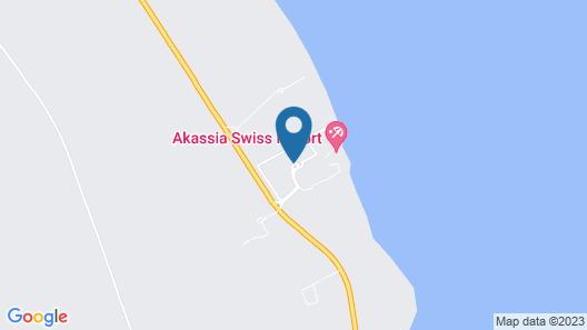lti Akassia Beach Resort Map