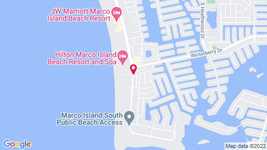 Apollo Beach Resort Map