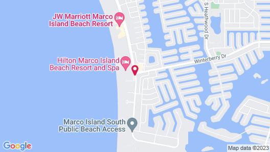 Marriott's Crystal Shores Map