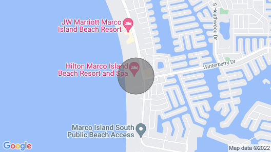 3 Bedroom Penthouse Suite Gulf Ocean View - NEW Year's Rental Map