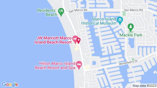 JW Marriott Marco Island Beach Resort Map