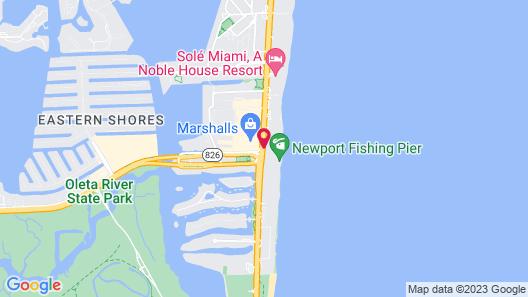 Newport Beachside Hotel & Resort Map