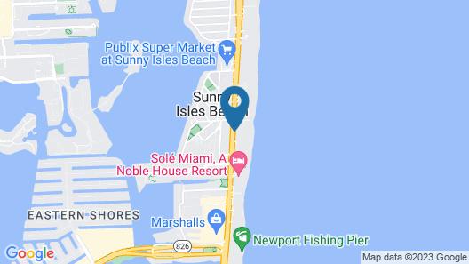 Acqualina Resort & Residences On The Beach Map