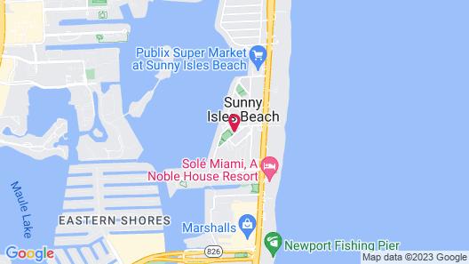 Wonderful Marbella Tower Sunny Isles Beach 2 Bedroom Condo Map