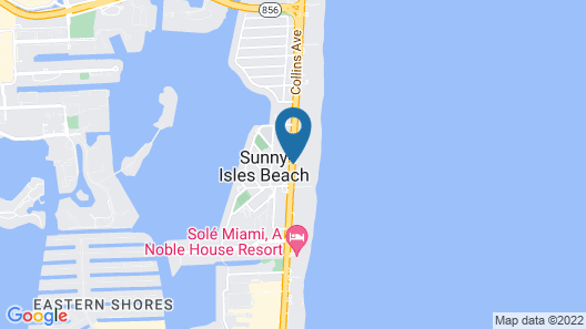Trump International Beach Resort Map