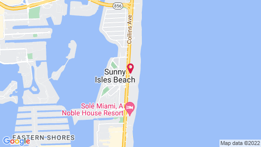 Trump International Beach Resort Map