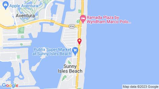 Private Ocean Condos at Marenas Beach Map