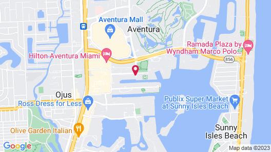 Aventura Family Suites Map