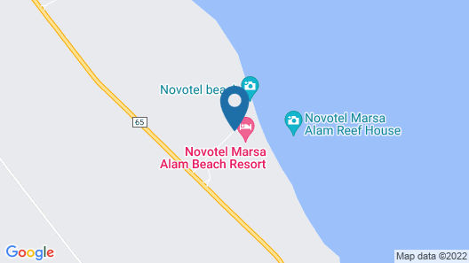 Novotel Marsa Alam Map