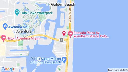 Destination Stays-Ocean View Condo Miami Map