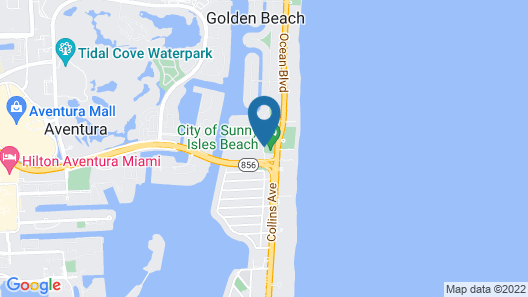 Ocean Reserve Apartments by FlatsAway Map