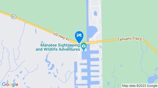 Port of the Islands Everglades Adventure Resort Map