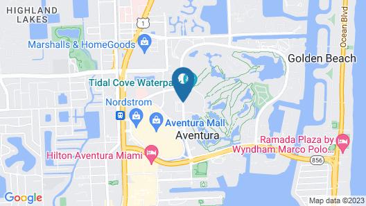 Residence Inn by Marriott Miami Aventura Mall Map
