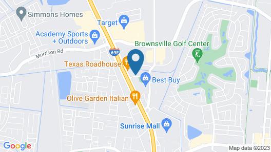 Holiday Inn Brownsville, an IHG Hotel Map