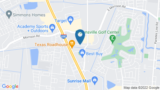 Home2 Suites by Hilton Brownsville Map