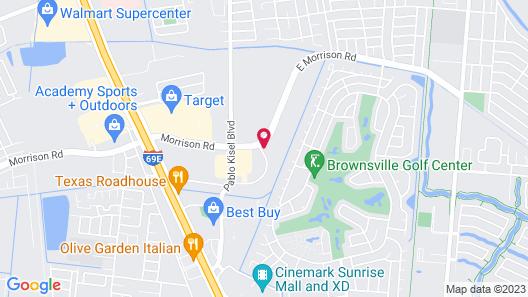 Fairfield Inn & Suites by Marriott Brownsville North Map