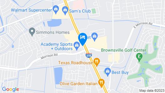 Residence Inn By Marriott Brownsville Map