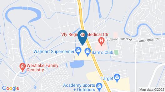 La Copa Inn Brownsville Map