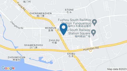 DoubleTree by Hilton Fuzhou South Map