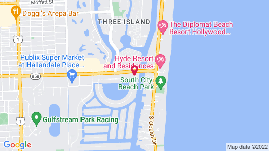 Luxurious Resort Apartments Map