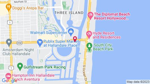 Bwalk Resort Rentals Map