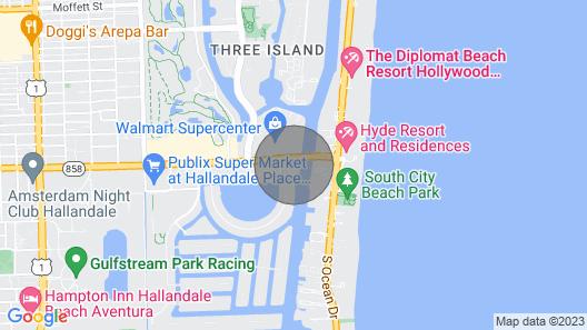 3 Bedroom Waterfront at Beachwalk Resort (No Resort Fee) Map