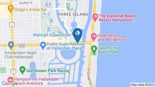 Beachwalk Elite Hotels & Resorts Map