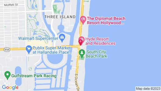 Hyde Resort & Residences Map