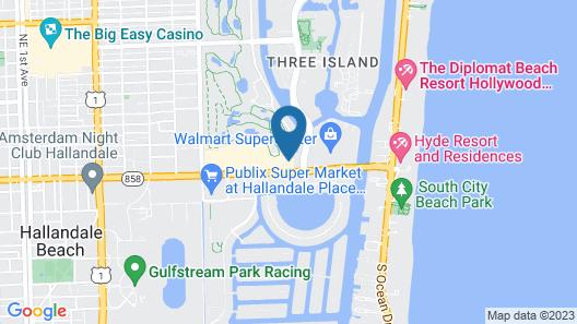 Bposhtels Hollywood Florida Map