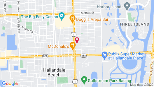 Richard's Motel Extended Stay Map