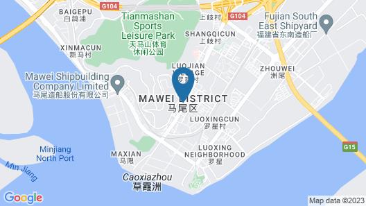 FUZHOU MAWEI YIHO HOTEL Map