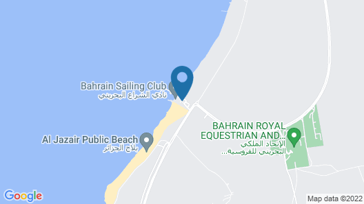Bahrain Beach Bay Resort Map