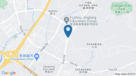 Echarm Fuzhou Haixia Olympic Sports Center Map