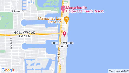 Hollywood Beach Tower by Capital Vacations Map
