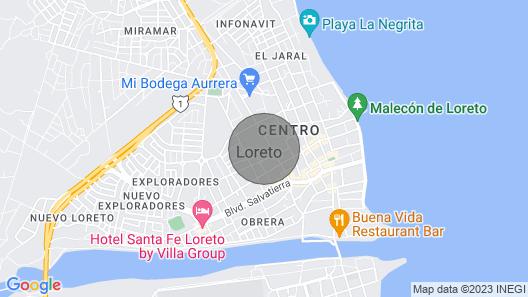 Casa Del Gallo 2 BR by Casago Map