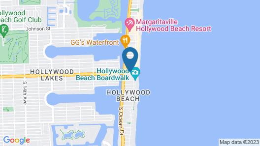 Hollywood Beach Resort Cruise Port Map